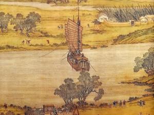 中国十大传世名画之张择端《清明上河图》