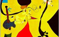 超现实主义大师米罗绘画作品 (113)