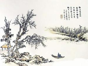 《芥子园画谱》:芥子园作为清朝出版业的著名品牌,沿袭两百多年
